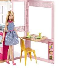 Barbie maison avec piscine et 3 poupées-Image 4