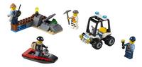 LEGO City 60127 Gevangeniseiland starterset-Vooraanzicht