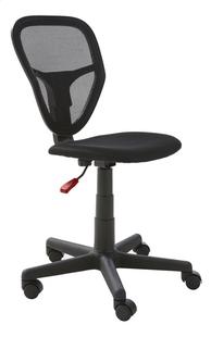 Demeyere Meubles chaise de bureau Radius noir -Avant