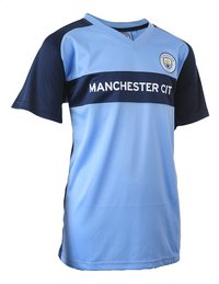 Voetbaloutfit Manchester City lichtblauw-Afbeelding 1
