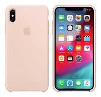 Apple coque en silicone pour iPhone Xs Max rose-commercieel beeld