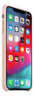 Apple coque en silicone pour iPhone Xs Max rose-Côté gauche