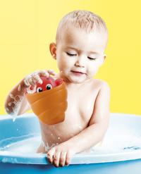 baby Clementoni jouet de bain Peekaboo Water Friends - 1 pièce-Image 2