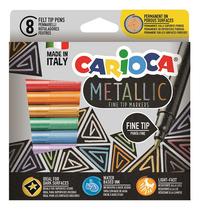Carioca feutre Metallic - 8 pièces