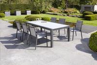 Chaise de jardin Forios gris/anthracite-Base