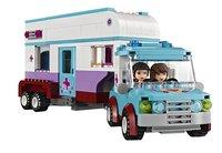 LEGO Friends 41125 La remorque à chevaux du vétérinaire-Image 1