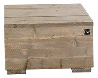 Dutchwood table d'appoint brun 80 x 80 cm-Avant