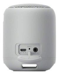 Sony bluetooth luidspreker SRS-XB12 grijs-Achteraanzicht