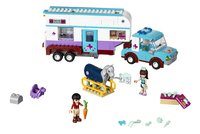 LEGO Friends 41125 Paardendokter trailer-Bovenaanzicht