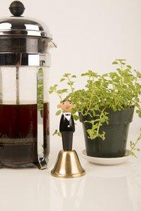 Kikkerland Waiter Dinner Bell-Afbeelding 2