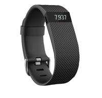 Fitbit activiteitsmeter Charge HR, maat L zwart-Vooraanzicht