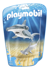 Playmobil Family Fun 9065 Hamerhaai met jong
