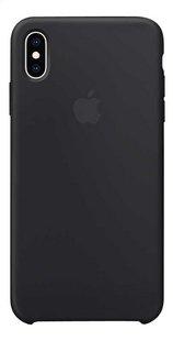 Apple coque en silicone pour iPhone Xs Max noir-Arrière