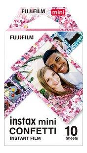 Fujifilm 10 photos Confetti pour Instax mini-Avant