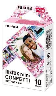 Fujifilm 10 photos Confetti pour Instax mini-Côté droit