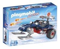 Playmobil Action 9058 Motoneige avec pirate des glaces-Côté gauche