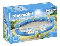 PLAYMOBIL Family Fun 9063 Bassin voor zeedieren-Linkerzijde