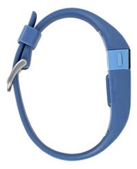 Fitbit activiteitsmeter Charge HR, maat L blauw-Linkerzijde