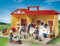 Playmobil Country 5348 Écurie transportable-Avant