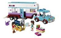 LEGO Friends 41125 La remorque à chevaux du vétérinaire-Avant