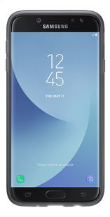 Samsung coque Galaxy J5 2017 + protection écran noir transparent