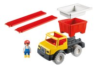 PLAYMOBIL Sand 9142 Kiepwagen met emmer-Vooraanzicht