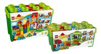 LEGO DUPLO 10572 Alles in één groene doos + 10580 Deluxe bouwdoos-Vooraanzicht