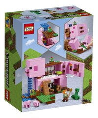 LEGO Minecraft 21170 Het varkenshuis-Achteraanzicht