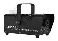 ibiza rookmachine met LED LSM400LED-BK-Linkerzijde
