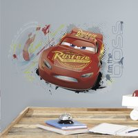 Sticker mural Disney Cars 3 Flash McQueen