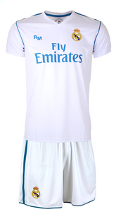 Voetbaloutfit Real Madrid Cristiano Ronaldo wit-Vooraanzicht