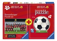 Ravensburger puzzle Belgian Red Devils Team + puzzleball