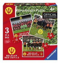 Ravensburger puzzel 3-in-1 Belgian Red Devils