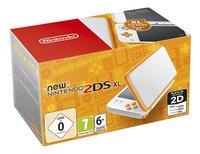 Nintendo Console 2DS XL  wit/oranje