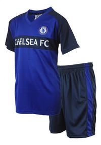 Voetbaloutfit Chelsea FC blauw-Rechterzijde