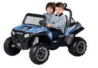 Peg-Pérego jeep électrique Polaris Ranger RZR900 bleu