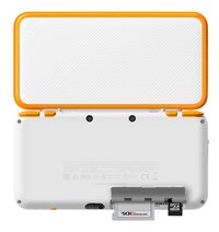 Nintendo Console 2DS XL  wit/oranje-Achteraanzicht