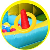 Happy Hop springkasteel Playcenter 7-in-1 -Artikeldetail