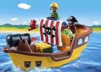PLAYMOBIL 1.2.3 9118 Bateau de pirates-Image 1