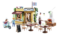 PLAYMOBIL City Life 70336 Pizzeria avec terrasse-Avant