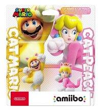 Nintendo figuur amiibo Cat Mario en Cat Peach-Vooraanzicht