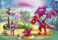 Playmobil Fairies 9134 Drakenhoeder met rode draken -Afbeelding 1