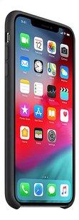 Apple coque en silicone pour iPhone Xs Max noir-Côté gauche