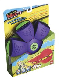 Goliath frisbee Phlat Ball V3 paars/groen-Linkerzijde