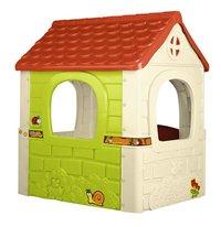 Feber speelhuisje Fantasy House wit-Achteraanzicht