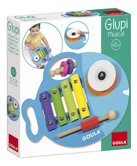 Goula Xylofoon Glupi musical 3-in-1-Linkerzijde