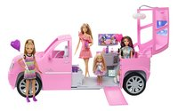 Barbie speelset Limo + 4 poppen-Afbeelding 1