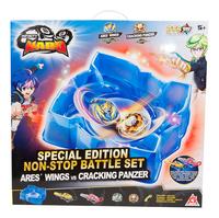 Infinity Nado Special Edition Non-Stop Battle Set Ares'Wings vs Cracking Panzer-Vooraanzicht
