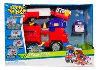 Super Wings Camion de pompiers Rescue Riders et Dizzy-Avant