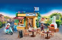 PLAYMOBIL City Life 70336 Pizzeria avec terrasse-Image 4